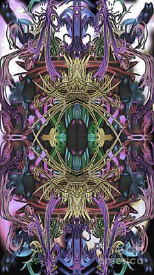 Digital Art - Electric Eye 2 by Reed Novotny