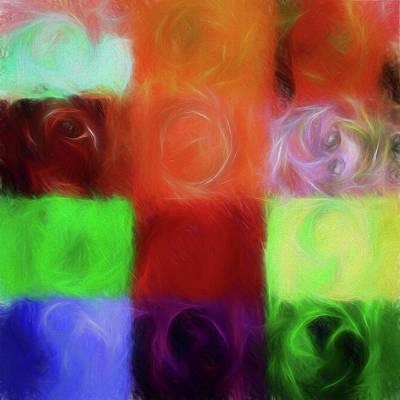 Digital Art - Electric Fibers - Painted by Ericamaxine Price