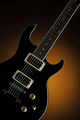 Photograph - Electric Guitar Fine Art Photograph Art Print Or Picture  4160.0 by M K  Miller