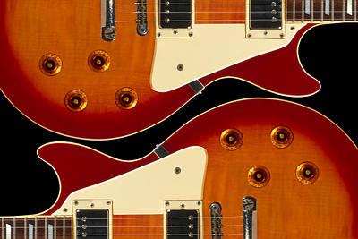 Pic Digital Art - Electric Guitar II by Mike McGlothlen