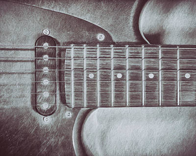 Royalty-Free and Rights-Managed Images - Electric Guitar by Scott Norris