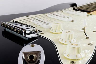 Photograph - Electric Guitar's Dials Up Close by Dawid Swierczek