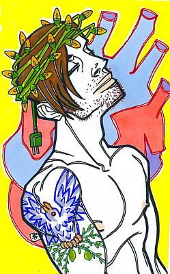 Electric Jesus Original by Shannon Hedges
