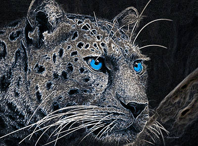 Photograph - Electric Leopard by Ericamaxine Price