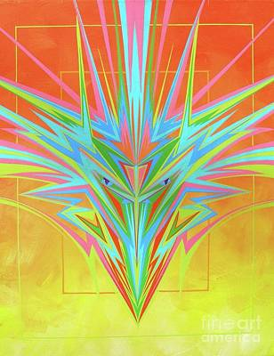 Painting - Electric Personality  by Alan Johnson