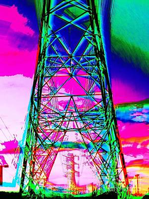 Photograph - Electric Power by Jenny Revitz Soper