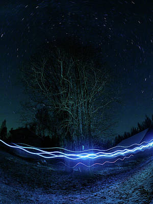Photograph - Electric Turbulence by Jouko Lehto