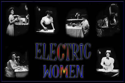 Photograph - Electric Women by Andrew Fare