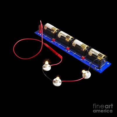 Electrical Circuit Art Print by Spl