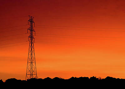 Photograph - Electrical Morn by Todd Klassy