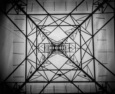 Photograph - Electrical Pylon by Will Gudgeon