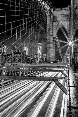 Manhattan Photograph - Electrify by Az Jackson