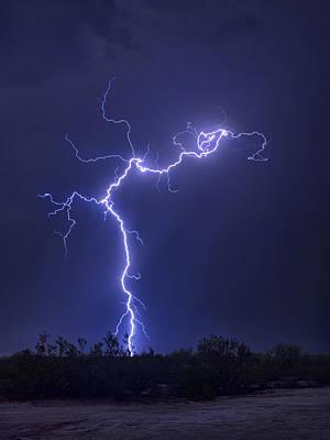 Photograph - Electrify The Desert Skies  by Saija  Lehtonen