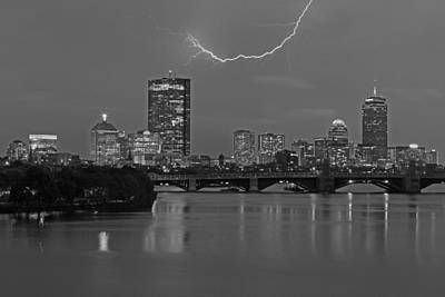 Photograph - Electrifying Boston by Juergen Roth