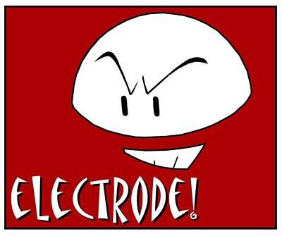 Digital Art - Electrode by Kyle J West