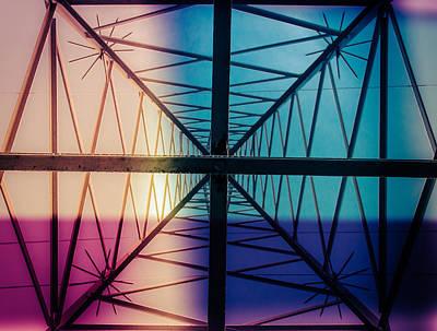 Electromagnetic Fields Art Print