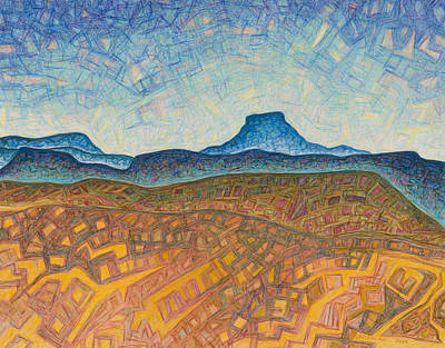 Electromagnetic Observation Print by Dale Beckman