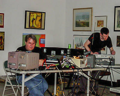 Photograph - Electronic Music - Performance by Allen Sheffield