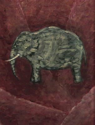 Painting - Elefante by Adrian Gonzalez