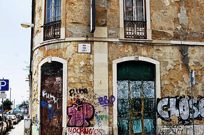Photograph - Elegance Blighted, Lisbon  by Lorraine Devon Wilke