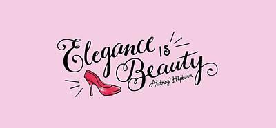 Elegance  Print by Elizabeth Taylor