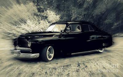 Photograph - Elegant '50 Mercury by Myrna Bradshaw