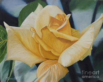 Painting - Elegant Beauty by Barbara Barber