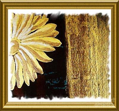 Elegant Daisy Art Print