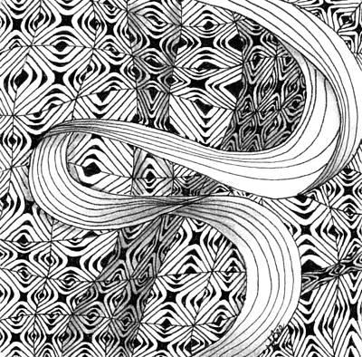 Drawing - Elegant Disturbance by Jan Steinle