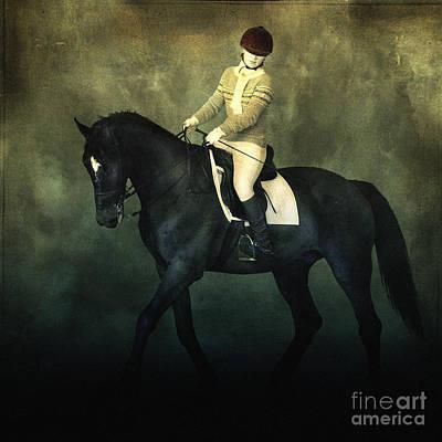 Photograph - Elegant Horse Rider by Dimitar Hristov