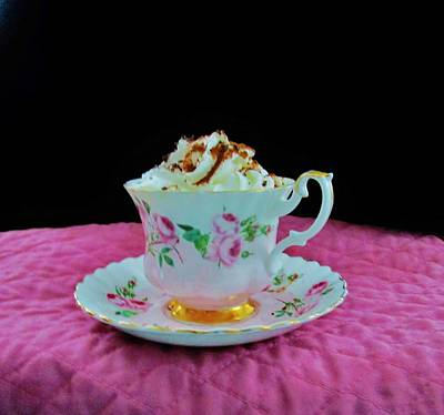 Of Bittersweet Photograph - Elegant Hot Chocolate by Sharon Ackley