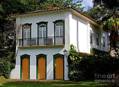 Photograph - Elegant House by Nareeta Martin