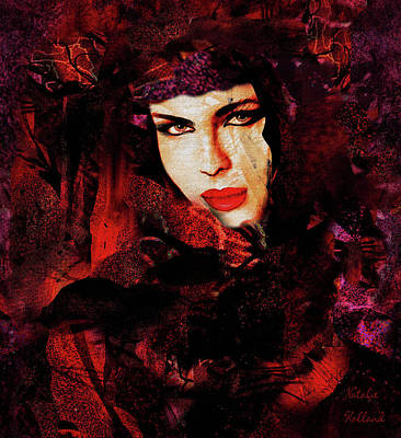 Painting - Elegant Lady by Natalie Holland