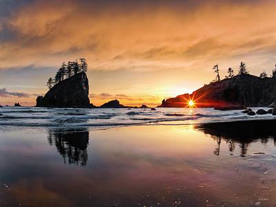 Photograph - Elegant Ocean Light by Leland D Howard