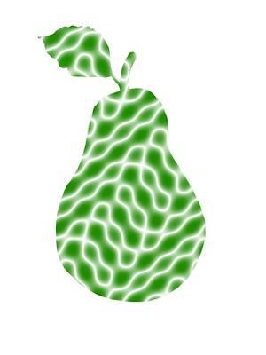 Elegant Pear Art Print