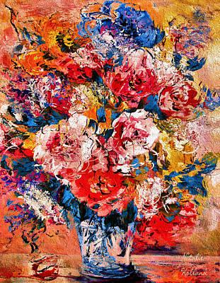 Painting - Elegant Peonies by Natalie Holland