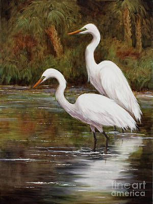 Painting - Elegant Reflections by Glenda Cason