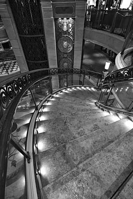 Photograph - Elegant Staircase by David Andersen