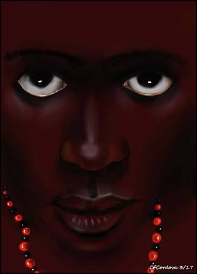 Orishas Digital Art - Elegua -young Man by Carmen Cordova