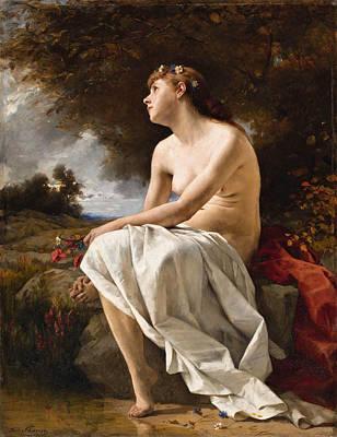 Painting - Elegy by Ferdinand Schauss