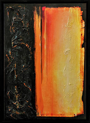 Joan Raspo Wall Art - Painting - Element by Joan Raspo