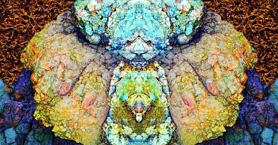 Elemental Being In Nature 1 Art Print