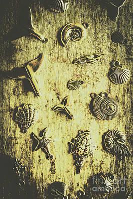 Elemental Marine Decorations Art Print