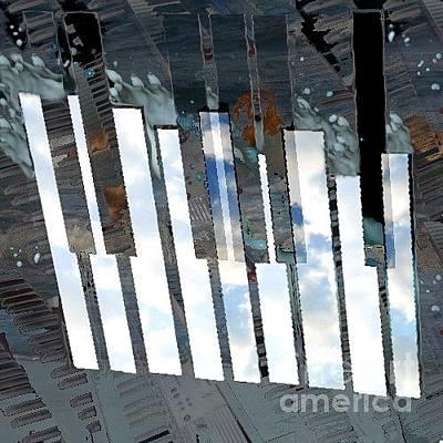 Digital Art - Elemental No.3 Gmajor by T Bork