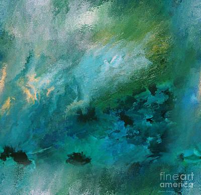 Brilliant Painting - Elemental Water Spirit by Sandra Gallegos