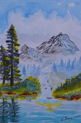 Painting - Elements Of Nature 2 by Warren Thompson