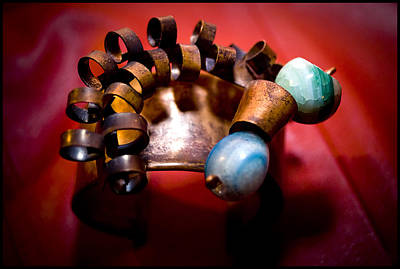 Copper Bracelet Photograph - Elements by Tina Zaknic - Xignich Photography