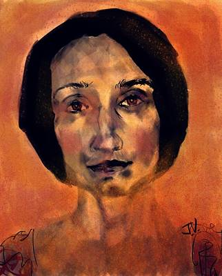 Painting - Elena by Jim Vance