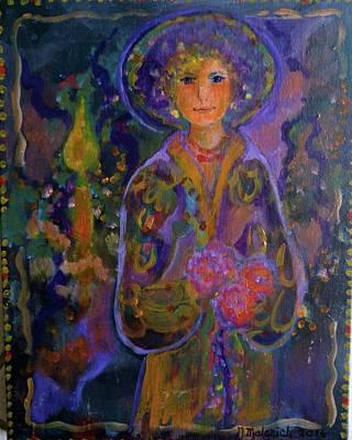 Elena Art Print by Norma Malerich