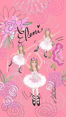Customized Digital Art - Eleni by Nicole Slater